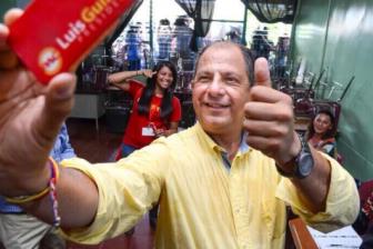 Costa Rica's president-elect Luis Guillermo Solis