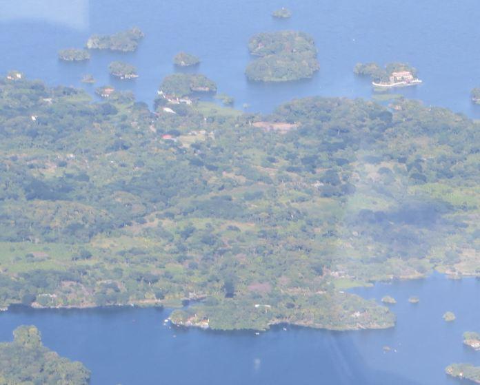 Islands in Lake Nicarugua 1366, A