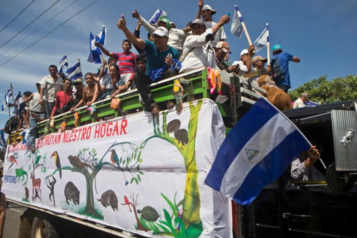 Nicaragua Canal Fight