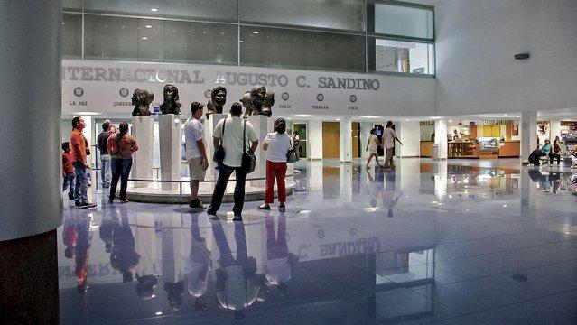Managua's Augusto C. Sandino  airport terminal