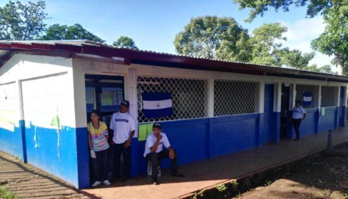 w turnout in elections in Nicaragua