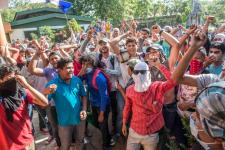 Protestas INSS