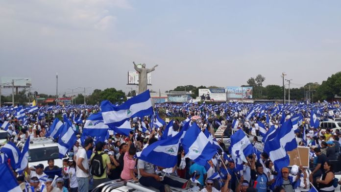 Civic March in Nicaragua: Thousands Demand An End To Violence