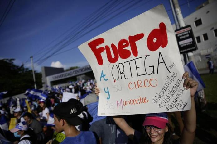 Nicaragua Hears Demands for Ortega's Exit and Early Elections