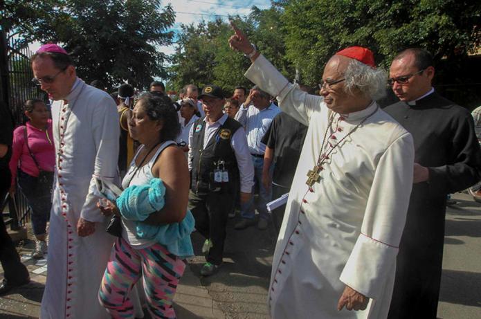 Nicaraguan Bishops In Show of Solidarity With Masaya