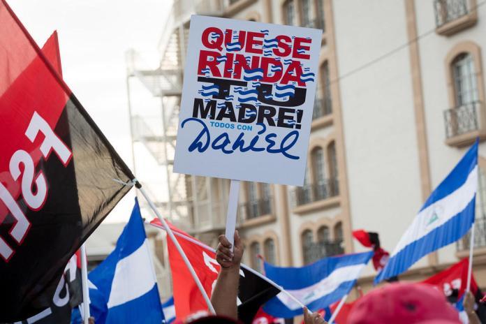 Waiting for Ortega's departure