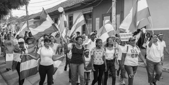Are the real Sandinistas in Nicaragua standing up?