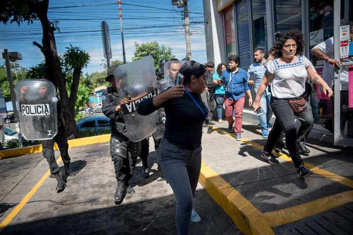 International journalists express deep concern over deteriorating press freedom climate in Nicaragua