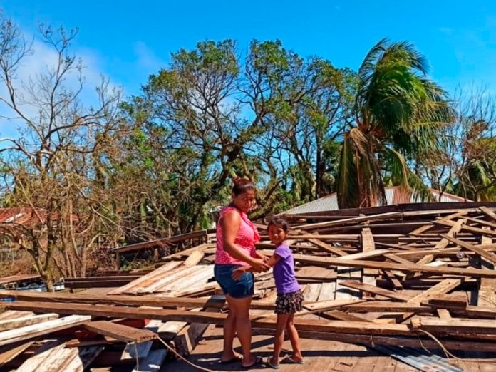 They Survived Two Hurricanes in a Row, but Their Lives Came to a Halt