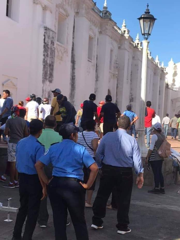 Mobs Attack the Cathedral in Leon, Nicaragua