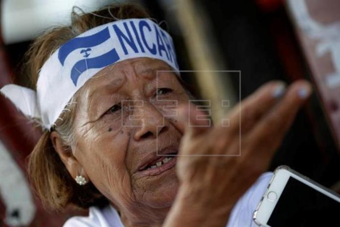 Grandparents Ready to Die in the Fight against Nicaraguan Government