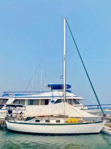 The Thisldu, docked at Marina Puesta del Sol in Nicaragua.(Handout)