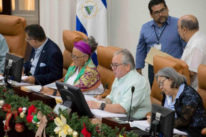 Nicaraguan lawmakers go after allegedly anti-government NGOs
