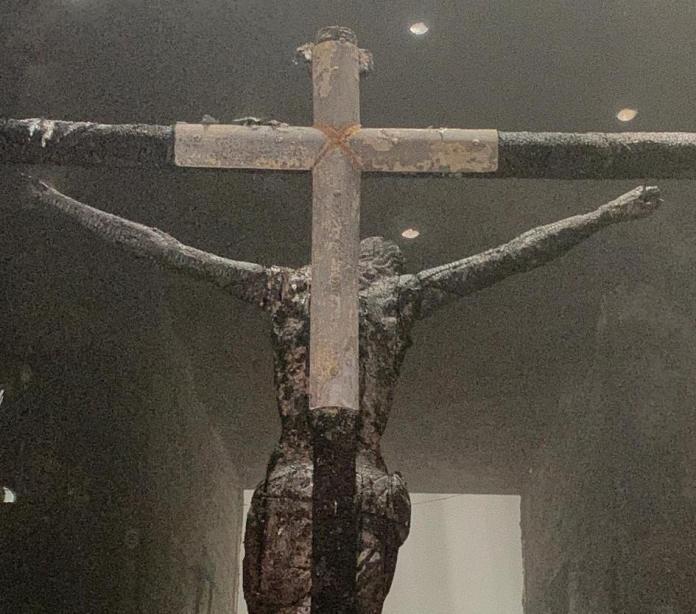 Bomb Attack Destroys Managua Cathedral Chapel