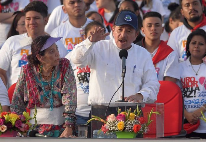 Daniel Ortega Rejects U.S. Sanctions Against His Wife