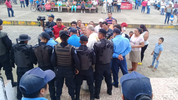 Mass Arrests Return to Nicaragua at Beseiged Church in Masaya