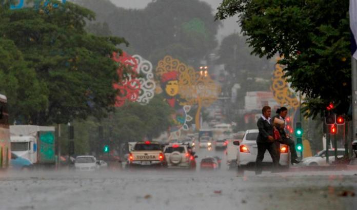 "Sahara dust combined with rainfall will produce ""acid rain"" in Nicaragua"
