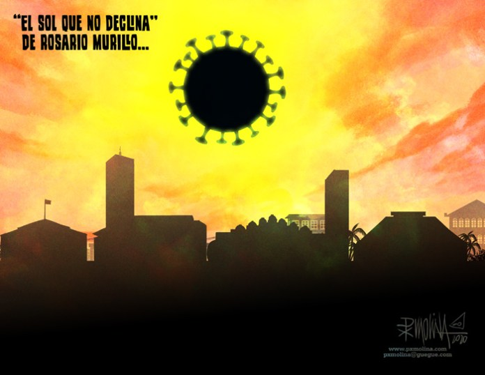 """""""The sun that does not set"""" by Rosario Murillo"""