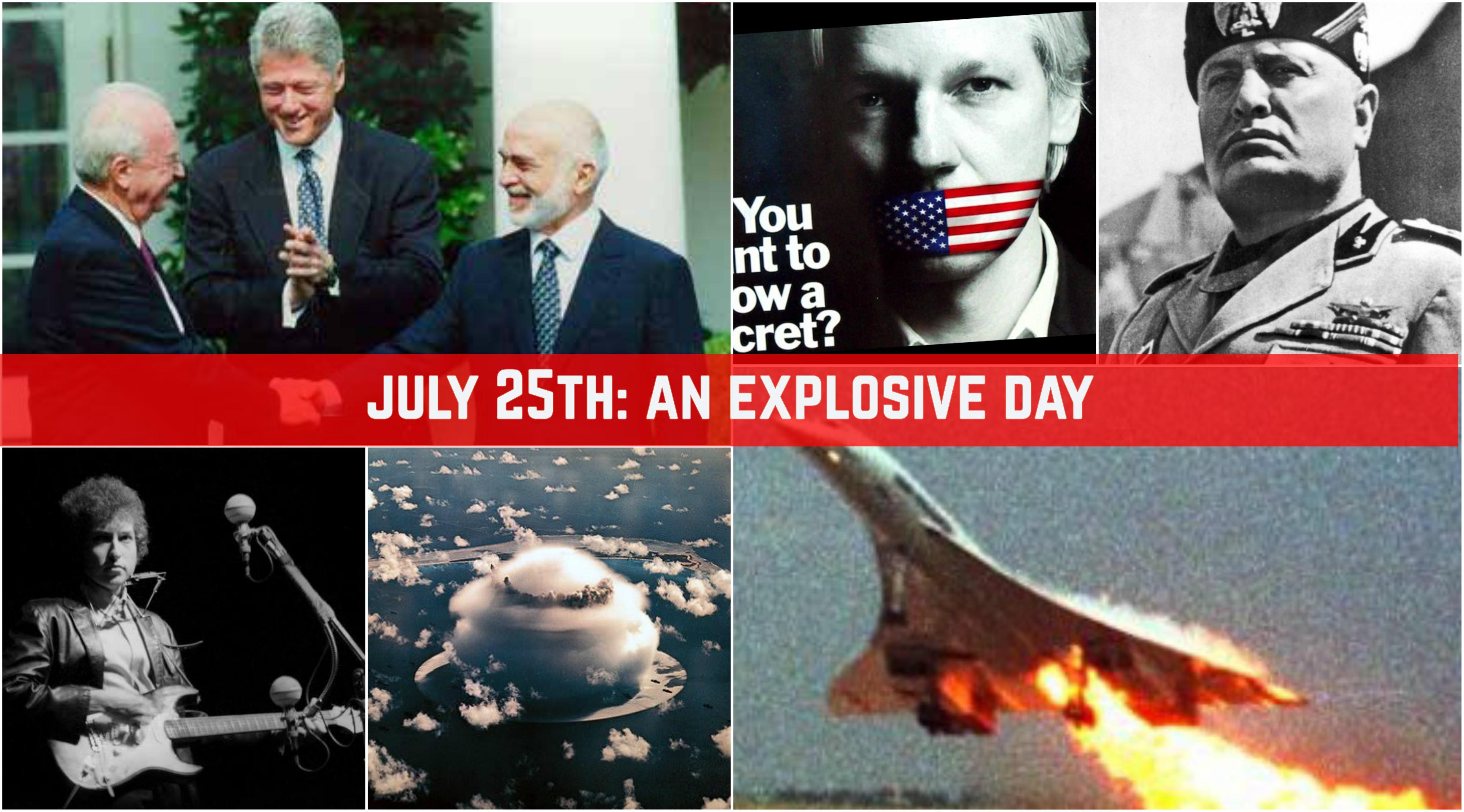 Jul-25: An Explosive Day