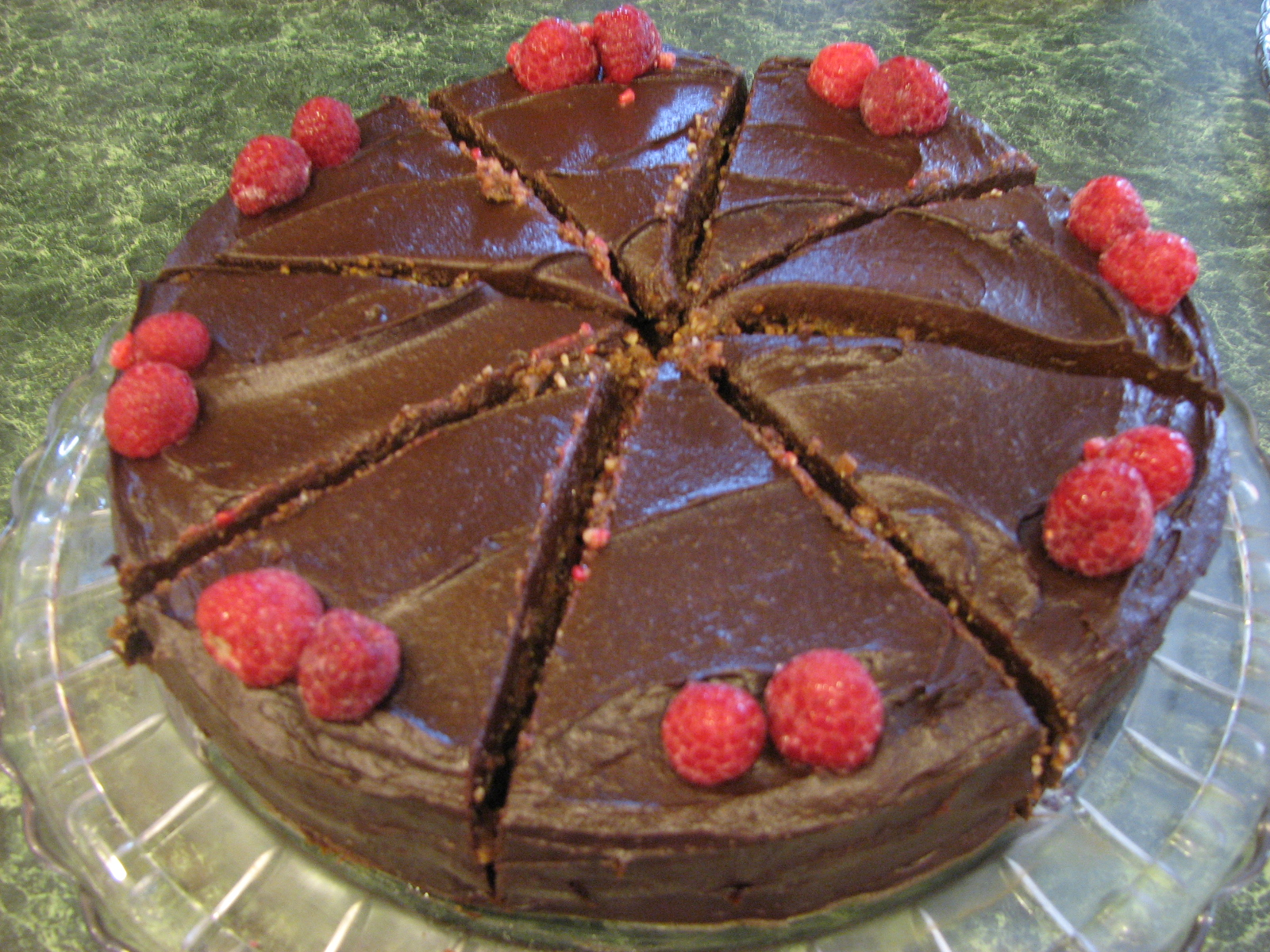Raw Raspberry Fudge Cake Today S Abundant Living
