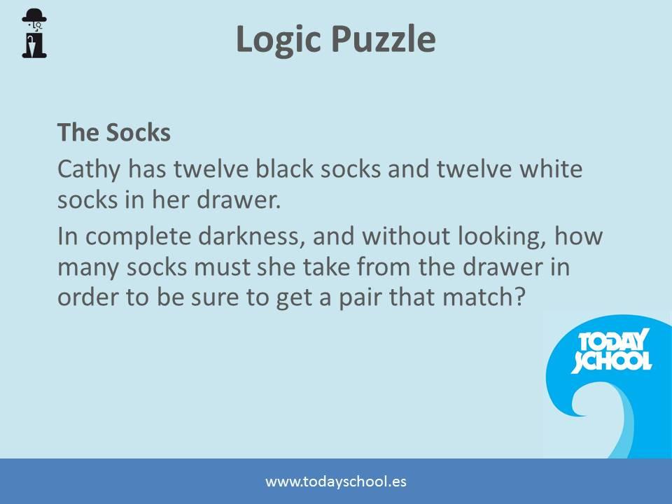 Logic Puzzle 1_socks