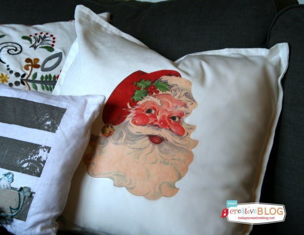Santa Pillow | TodaysCreativeBlog.net