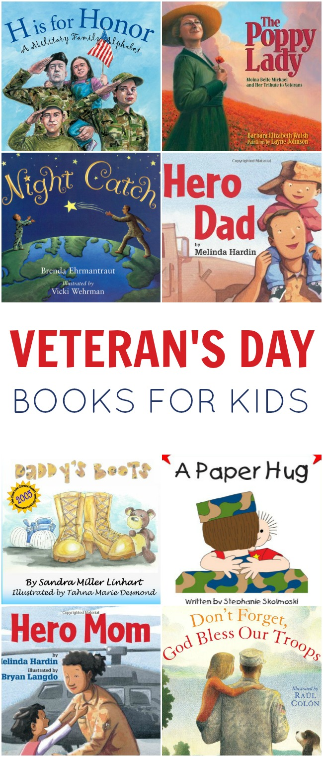 hight resolution of Veteran's Day Books for Kids   Today's Creative Ideas