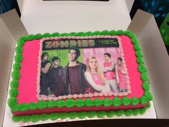 Zombie Cake Supplies