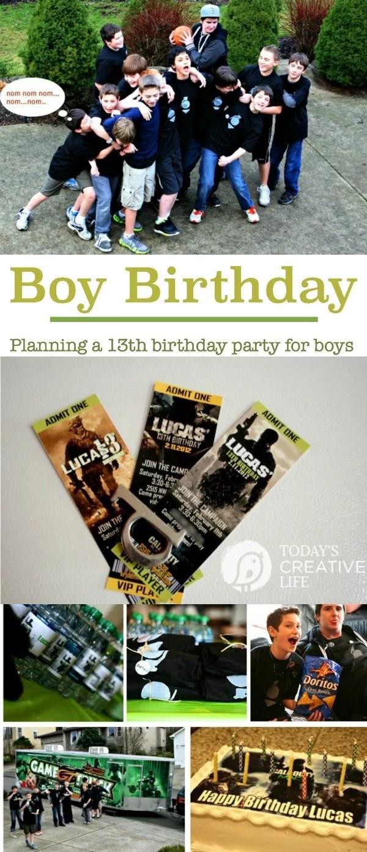 birthdays planning a 13yr