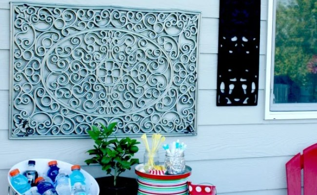 Outdoor Wall Art Diy Today S Creative Life