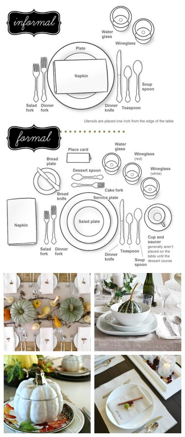 medium resolution of how to set a table follow this easy diagram for setting your holiday table