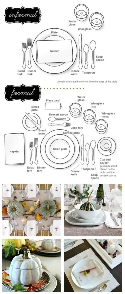 small resolution of how to set a table follow this easy diagram for setting your holiday table