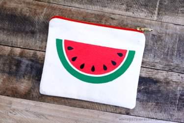 watermelon stencil template slice pouch easy half wait dry mintedstrawberry guardado desde