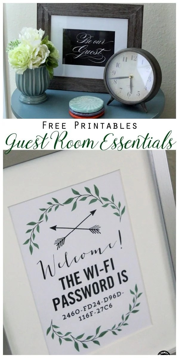 10 Guest Room Essentials and Tips  Todays Creative Life
