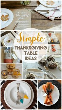 10 Creative Thanksgiving Table Settings | Today's Creative ...