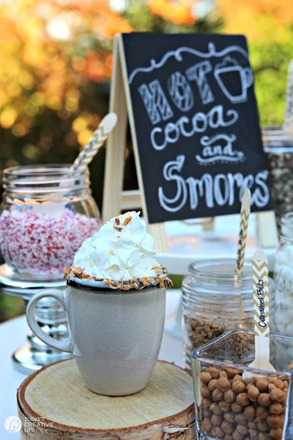 SMores Bar Buffet Party  Todays Creative Life