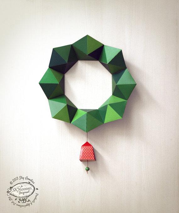 Printable Geometric Holiday Ornaments Todays Creative Life