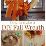 Diy Fall Wreath Tutorial Today S Creative Life