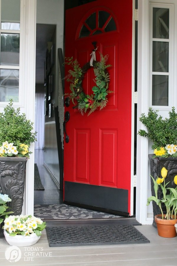 Front Door Decorating Ideas For Spring. Front Porch Decor
