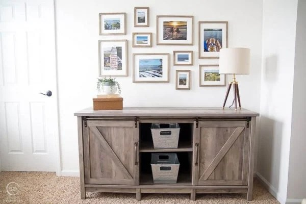 Farmhouse office makeover by Simply Designing