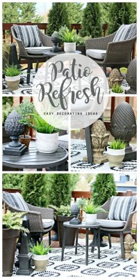 Easy Patio Decorating Ideas | Today's Creative Life