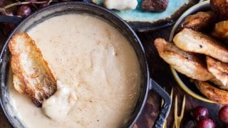 Smoky 3 Cheese Fondue