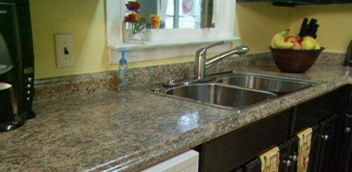 Plastic Laminate Kitchen Countertops