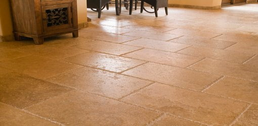 how to lay tile on a concrete slab
