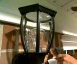 cleaning outdoor glass light fixtures