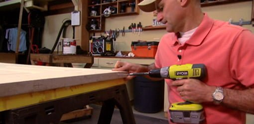 Ss Countertops How To Paint Both Sides Of A Door On Sawhorses | Today's