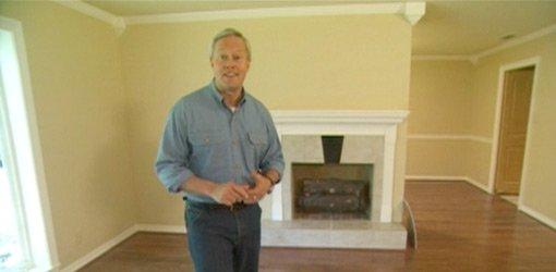 Danny Lipford in remodeled family room