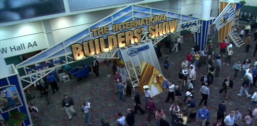Booths at International Builders' Show 2006