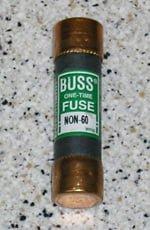 Cartridge fuse.