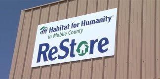 Habitat for Humanity ReStore sign